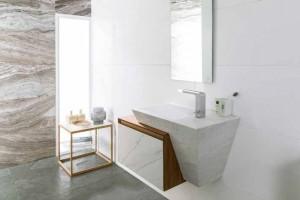 Marmi - Grey Aged Home Bioprot e Thassos Ice Pulido Bioprot
